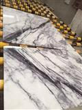 bookmatched lilac white marble,Elegant Milas Lilac white purple marble