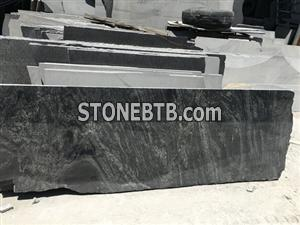 China granite Mountain stone Dark Green Montain Stone New green granite natural stone