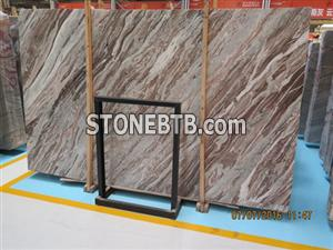 natural marble slabs graceful purple Chinese panda white marble white marble