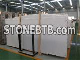 China new star white marble big slab