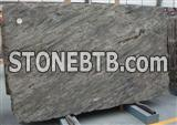Luxury imperial green granite slab