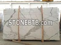 Super nice and luxury calacatta white marble slab