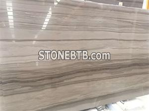 Athens Wooden Marble Slabs