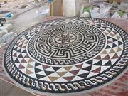 Beautiful and elegant mosaic pattern