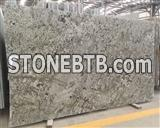Popular brazil white Verde Emerald granite countertop