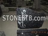 Blue Pearl Granite Tombstone/Monument/Tombstone/Gravestone for hot sale