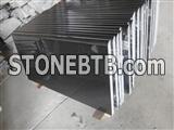 Mongolia black granite countertop