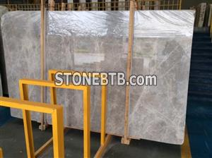 New arrival Tundra Grey marble slab on hot sale