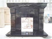 black fireplace 038