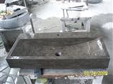 Black Basalt Stone Sink