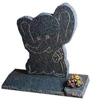 Chinese Black Granite Monuments