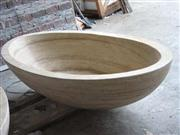 sandstone bathtub