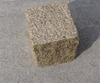G350 Yellow Granite Cube