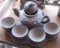 Blue Limestone Artware Teapot