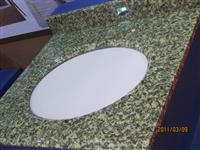 Green Granite Vanity Tops
