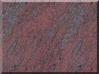 Multicolor Red Countertop