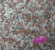 G687, Peach Red Granite