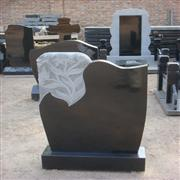 Black Color Headstone