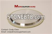 3A1 Ceramic bonded diamond disc type superhard material grinding wheel