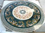 Stone Medallion, Waterjet, Pattern, Inlay