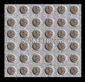 Red Granite Blind Paving Stone