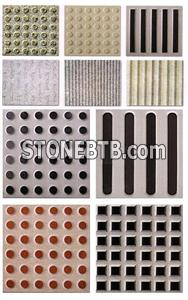 Multicolor Granite Blind Stone