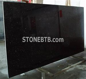 Black Galaxy Granite Slabs Stones/ Black Star Galaxy Granite Slabs Stones