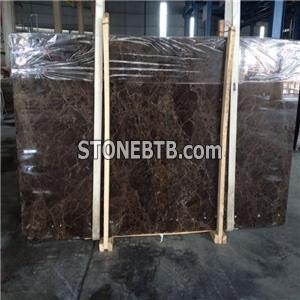 Dark Emperador Marble Slab Tiles For Side Boundary &waterjet&mosaics