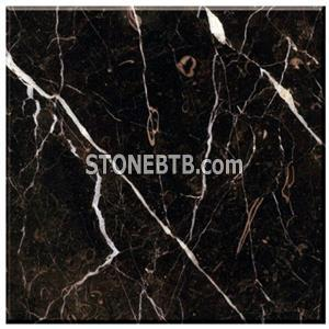 Black Marble Table Vanity Countertops Inlay Flooring Tile