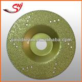 Vacuum Brazed Diamond Cup Wheel For Marble