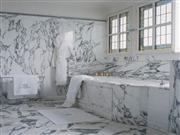 Calcutta Gold Marble Bathroom