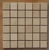 honed marble mosaic pattern