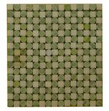 green dot marble mosaic