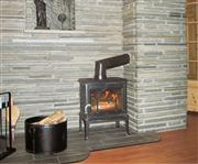 Slate wall cladding, wall panels