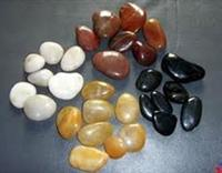 Mixed riverstone pebble