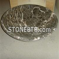 Dragon Green Marble Stone Basin ,Stone Sink