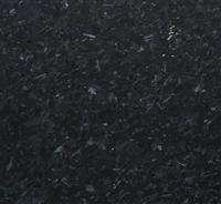 Crystal black honed granite