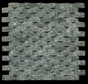Grey quartzite mosaic