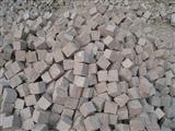 Red prophyry G666 Cobble stone