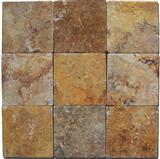 Paver Apricot Travertine Yellow