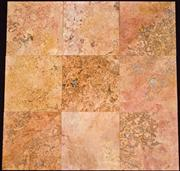 Peach Travertine Honed - Durango Zacatecas