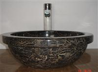 Brown Marble sink,wash basin