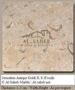 Jerusalem Antique Gold limestone