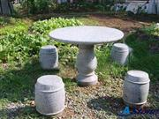 Garden Table, Garden Granite Table