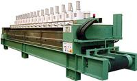 Continuous polishing machine