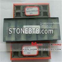 High speed Solid CBN inserts for processing iron and chill steel