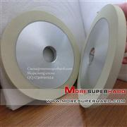 flat shaped vitrified diamond grinding wheels, ceramic bond diamond grinding wheel