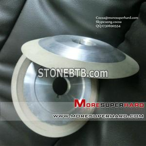 12V2 resin bond diamond grinding wheel for sharpening carbide tools
