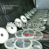 1A1 resin bond diamond bruting wheel for machining PCD&PCBN material Cocoa@moresuperhard.com