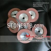 resin diamond grinding wheels for thermal spraying alloy materials Cocoa@moresuperhard.com